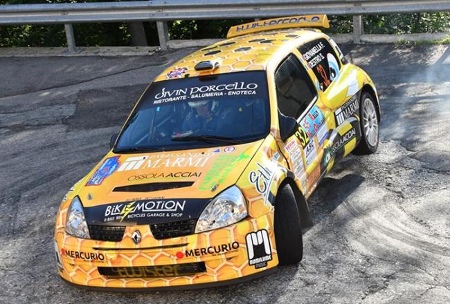Giovanella rally Valli Ossolane