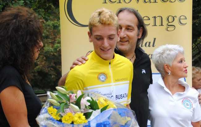 Mirko Bozzola primo classificato nella ciclovarese challenge