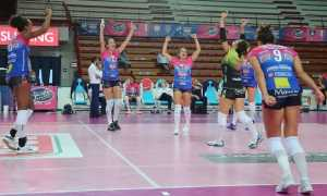 igor volley esulta