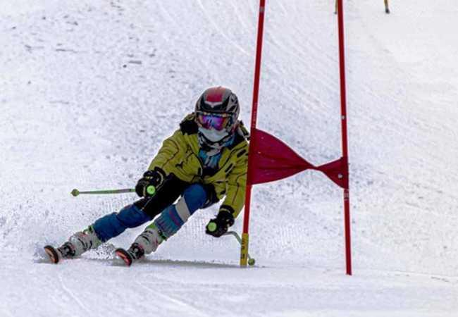 paletti gara sci slalom palo