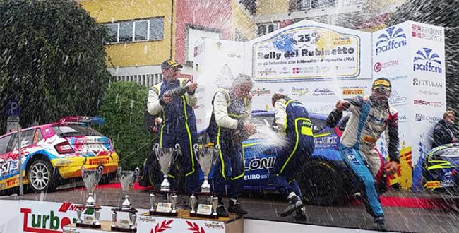 premiazione rally rubinetto 2018
