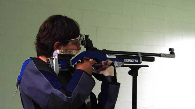 tiro segno fucile Lucia Pirazzi in azione