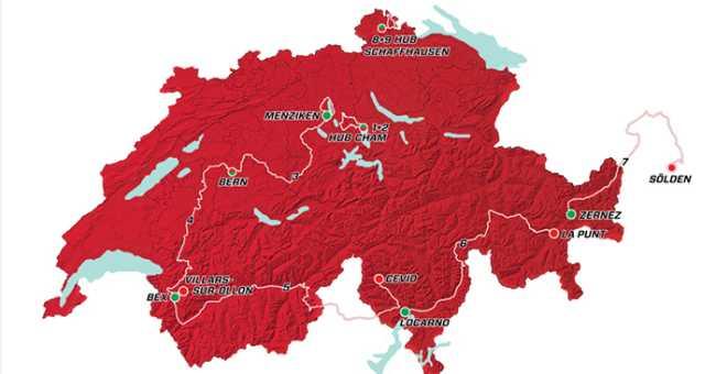 tour suisse 17 percorso