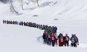 traccia bianca Immersi nella neve foto Lorenzo Camocardi