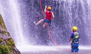 b canyoning acqua corde